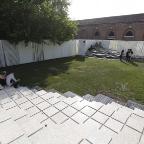 13 Looking down the piled mountains in Virgin Garden 290x290 - Pavilion of China for the International Architecture Exhibition - La Biennale di Venezia 2014 Inaugurated