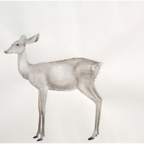 "13 Tang Hui ""Deer 2014 4"" water soluble pencils on paper 109 x 79 cm 2014  290x290 - Tang Hui"
