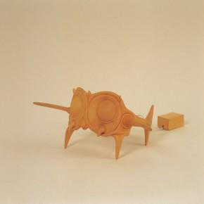 "165 Tang Hui ""Tang Town Project – Shanghai Biennial"" Helmet – side elevation 2002 290x290 - Tang Hui"