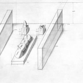 "173 Tang Hui Drawing of the design of the ""Tang Town Project – Shanghai Biennial"" 290x290 - Tang Hui"