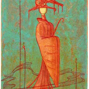 """18 Tang Hui """"Doll"""" acrylic on canvas 30 x 40 cm 2013 290x290 - Tang Hui"""