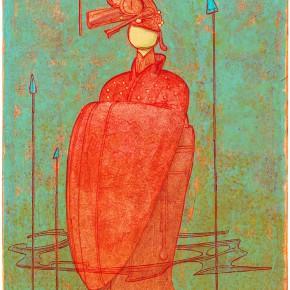 """19 Tang Hui """"Doll No.2"""" acrylic on canvas 30 x 40 cm 2013 290x290 - Tang Hui"""