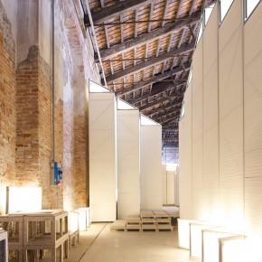 20 Indoor gallery photo courtesy of Macro Cappelletti 290x290 - Pavilion of China for the International Architecture Exhibition - La Biennale di Venezia 2014 Inaugurated