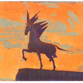 "20 Tang Hui ""Ironed Horse"" acrylic on canvas 120 x 100 cm 2012 290x290 - Tang Hui"