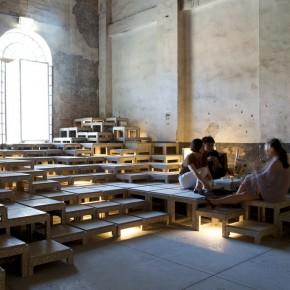 21 Indoor gallery – Back Hill photo courtesy of Macro Cappelletti 290x290 - Pavilion of China for the International Architecture Exhibition - La Biennale di Venezia 2014 Inaugurated