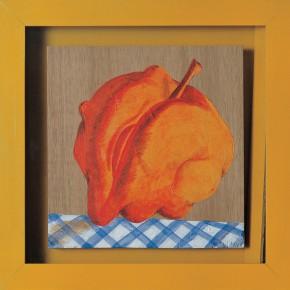 "210 Tang Hui ""Red Life"" acrylic on board 22 x 22 cm 1997 290x290 - Tang Hui"