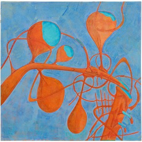 "22 Tang Hui ""Bubble"" acrylic on canvas 110 x 110 cm 2012 290x290 - Tang Hui"