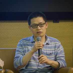 "23 Song Yi, senior editor of ""LEAP"" magazine"