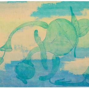 "23 Tang Hui ""Qi No.2"" acrylic on canvas 160 x 110 cm 2013 290x290 - Tang Hui"