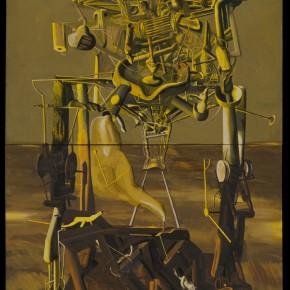 """237 Tang Hui """"On the Orbital of DOS"""" acrylic on canvas 110 x 220 cm 1995 290x290 - Tang Hui"""