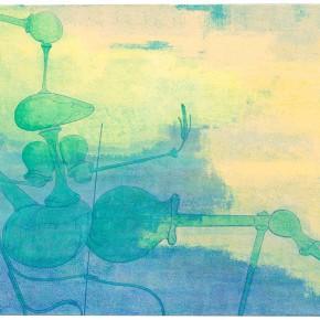 "24 Tang Hui ""Qi No.1"" acrylic on canvas 160 x 110 cm 2013 290x290 - Tang Hui"