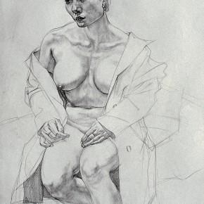 "246 Tang Hui ""Female Body"" drawing 1992 290x290 - Tang Hui"