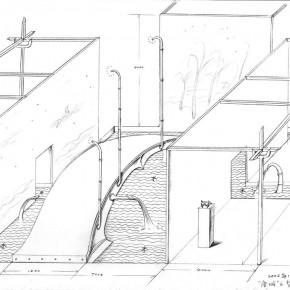 "247 Tang Hui Axonometric drawing of ""Dream Bridge of Tang Town"" 290x290 - Tang Hui"