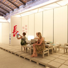 25 Section two of the gallery Zhang Growth 290x290 - Pavilion of China for the International Architecture Exhibition - La Biennale di Venezia 2014 Inaugurated