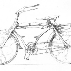 "250 Tang Hui, ""A Bicycle"""