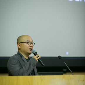 "30 Ou Ning gave a lecture on The Collectivism as a Practical Utopia 290x290 - ""The Collective Eye"" Symposium Held at CAFA Art Museum"