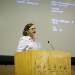 "32 Stephen Wright gave a lecture 290x290 - ""The Collective Eye"" Symposium Held at CAFA Art Museum"