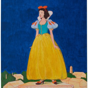 """32 Tang Hui """"The Monument Series – Snow White"""" acrylic on canvas 50 x 60 cm 2013 290x290 - Tang Hui"""