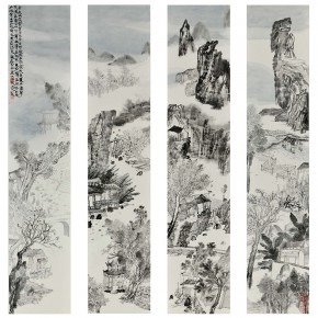 "33 Bigan Hangni ""Road to Canaan"" No.1 No.2 No.3 No.4  290x290 - ""The Rush – Exhibition for Young Artists from CAFA"" Unveiled at Times Art Museum"