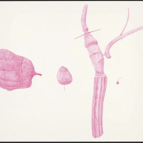 "38 Tang Hui, ""Shape of the Purple No.1"", watercolor on paper, 109.5 x 79 cm, 2012"