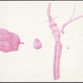 """38 Tang Hui """"Shape of the Purple No.1"""" watercolor on paper 109.5 x 79 cm 2012 290x290 - Tang Hui"""