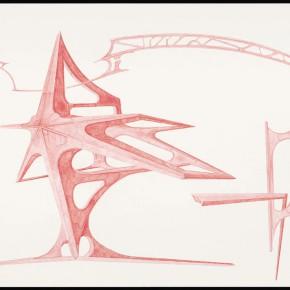 """39 Tang Hui """"Shape of the Faith No.6"""" watercolor on paper 109.5 x 79 cm 2012 290x290 - Tang Hui"""