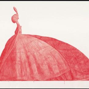 """41 Tang Hui """"Shape of the Faith No.4"""" watercolor on paper 109.5 x 79 cm 2012 290x290 - Tang Hui"""
