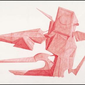 """43 Tang Hui """"Shape of the Faith No.2"""" watercolor on paper 109.5 x 79 cm 2012 290x290 - Tang Hui"""