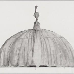 "49 Tang Hui ""Shape of the Faith Princess No.2"" watercolor on paper 109.5 x 79 cm 2012 290x290 - Tang Hui"