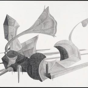 """50 Tang Hui """"Shape of the Faith No.1"""" pencils on paper 109.5 x 79 cm 2012 290x290 - Tang Hui"""