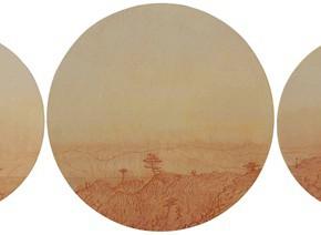 "58 Tang Hui ""Riverside Mountains"" acrylic on canvas 100 x 490 cm 2011 290x212 - Tang Hui"