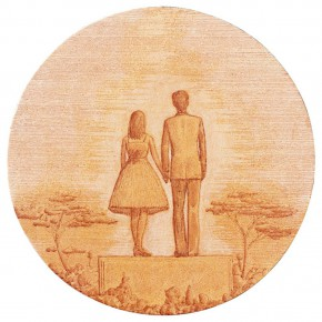 "60 Tang Hui ""Riverside Love"" acrylic on canvas 50 x 50 cm 2011 290x290 - Tang Hui"
