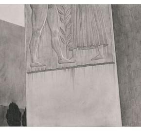 "65 Tang Hui ""Square Series No.9"" aluminum sketch 120 x 30 cm 290x269 - Tang Hui"
