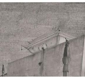 "71 Tang Hui ""Square Series No.3"" aluminum sketch 120 x 30 cm 290x269 - Tang Hui"
