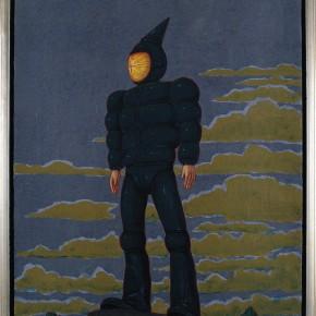 "94 Tang Hui ""Lighthouse"" No.2 acrylic on canvas 30 x 40 cm 2010 290x290 - Tang Hui"