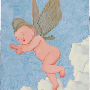 "96 Tang Hui ""Angel"" acrylic on canvas 30 x 40 cm 2009 290x290 - Tang Hui"
