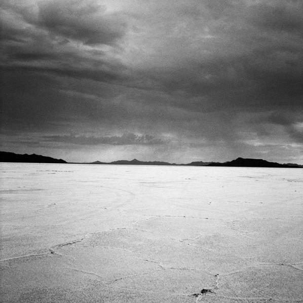 Hannes Schmid, Bonneville Salt Flats, Utha from Bonneville (Formula 1), 120 x 120cm, Inkjet Print, 2006
