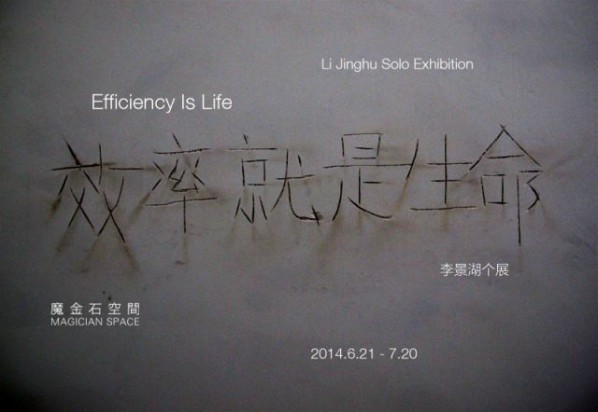 Poster of Efficiency is Life