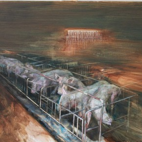 Zhang Wenrong Landscape 180x140cm 290x290 - The Realism of Hallucination: Zhang Wenrong Solo Exhibition to be Exhibited at Today Art Museum