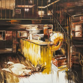 Zhang Wenrong The Interior 2013 Oil on canvas 280x160cm 290x290 - The Realism of Hallucination: Zhang Wenrong Solo Exhibition to be Exhibited at Today Art Museum