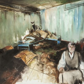 Zhang Wenrong Untitled 2013 Oil on canvas 140x100cm 290x290 - The Realism of Hallucination: Zhang Wenrong Solo Exhibition to be Exhibited at Today Art Museum