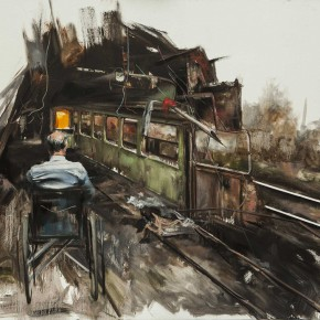 Zhang Wenrong Untitled Oil on canvas 200x140cm 290x290 - The Realism of Hallucination: Zhang Wenrong Solo Exhibition to be Exhibited at Today Art Museum