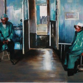 Zhang Wenrong We 2014 Oil on canvas 200x140cm 290x290 - The Realism of Hallucination: Zhang Wenrong Solo Exhibition to be Exhibited at Today Art Museum