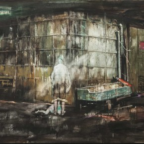 Zhang Wenrong We Oil on canvas 160x100cm 290x290 - The Realism of Hallucination: Zhang Wenrong Solo Exhibition to be Exhibited at Today Art Museum