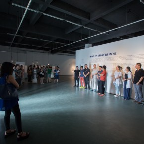 """02 View of the opening ceremony of """"A New Context Derived From Shuimo""""  290x290 - """"A New Context Derived From Shuimo"""" – Sishang Art Museum Experimental Plan in the Second Round is Unveiled"""