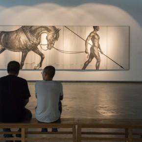"""03 View of the opening ceremony of """"A New Context Derived From Shuimo"""" 1 290x290 - """"A New Context Derived From Shuimo"""" – Sishang Art Museum Experimental Plan in the Second Round is Unveiled"""