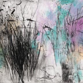 "11 Tang Chenghua ""Passages Through Nature No.7"" mixed media on paper 80 x 120 cm 2014 290x290 - ""Passages Through Nature – The Art of Tang Chenghua"" Opened at Beijing Today Gallery"