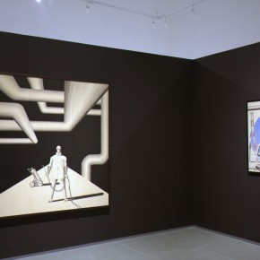12 Installation view of the exhibition1 290x290 - Reproduction of the History of '85 Art – Song Ling's First Domestic Solo Exhibition Opened at the Today Art Museum