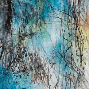 "13 Tang Chenghua ""Passages Through Nature No.11"" mixed media on paper 150 x 90 cm 290x290 - ""Passages Through Nature – The Art of Tang Chenghua"" Opened at Beijing Today Gallery"