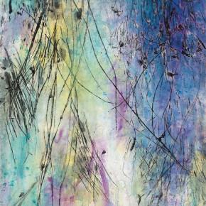 "14 Tang Chenghua ""Passages Through Nature No.12"" mixed media on paper 150 x 90 cm 290x290 - ""Passages Through Nature – The Art of Tang Chenghua"" Opened at Beijing Today Gallery"